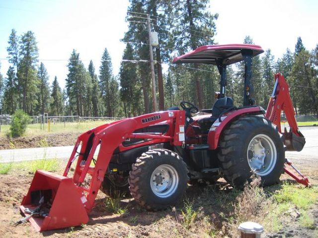 Mahindra 3540 4WD Power Shuttle Shift with Backhoe and FEL ...