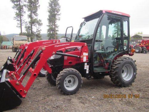 Mahindra Max 26 Cab Tractor