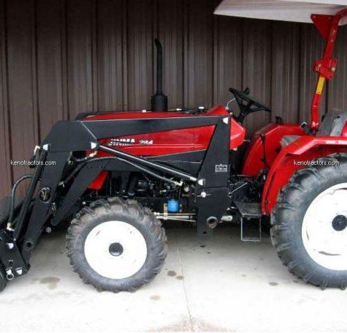Mahindra 4540 4WD with FEL - Keno Tractors