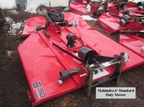 Mahindra – Mower 6′ Standard Duty w/Slip Clutch