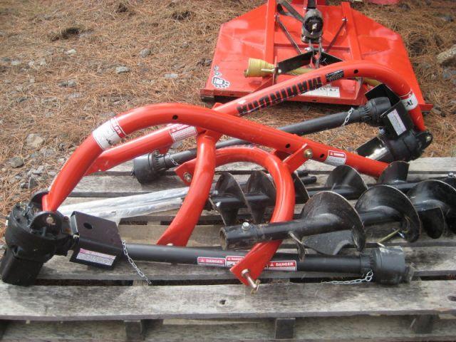 Ford Tractor Auger Parts : Post hole digger inch mahindra keno tractors