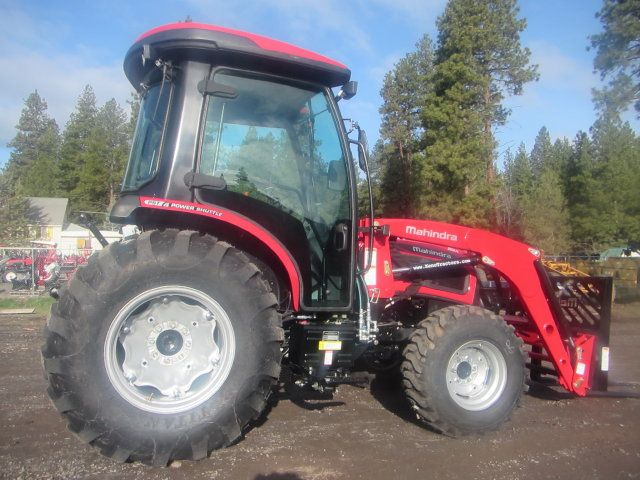Mahindra 3540 Cab Tractor and Loader - Available with Power