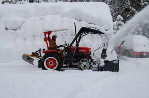 Snow Blower - Front Mount Snow Blower