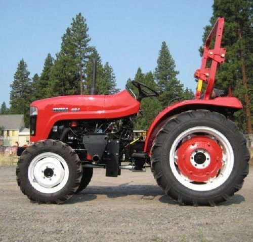 Branson 2400H Tractor with Front End Loader and Backhoe - Keno Tractors