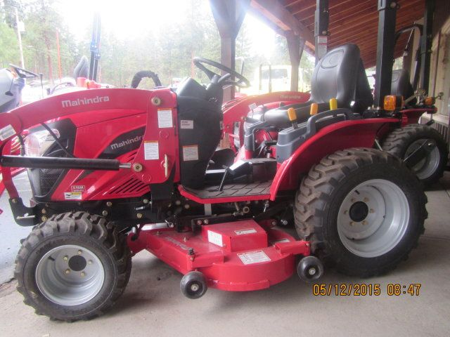 Emax 22 4wd With Fel And Mid Mount Mower Keno Tractors