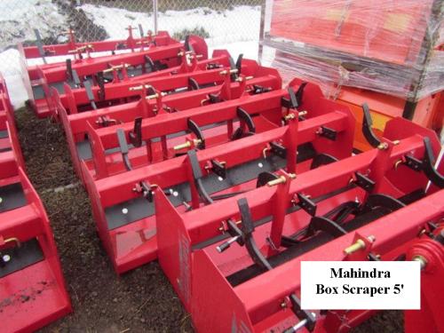 Mahindra Box Scraper 5' Standard Duty