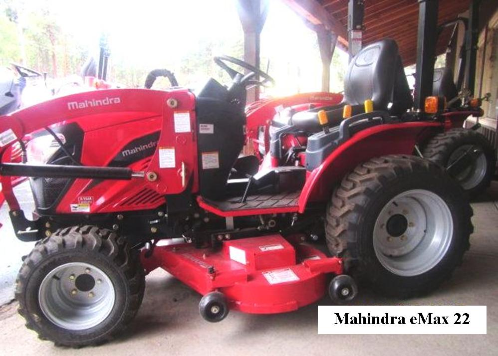 -eMax 22 with Mower