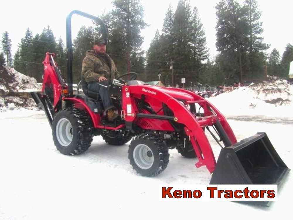 eMax 22 with FEL and Backhoe