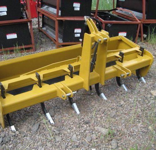 Grapple - Mahindra Skid Steer Root Rake Grapple 60 Inch
