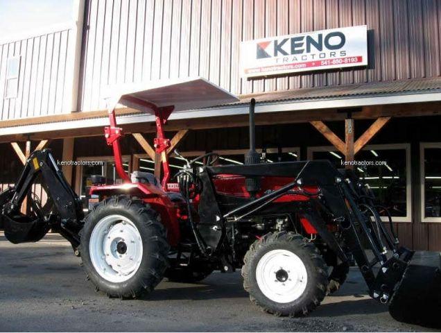 Jinma Tractor Parts : Jinma with factory fel backhoe keno tractors