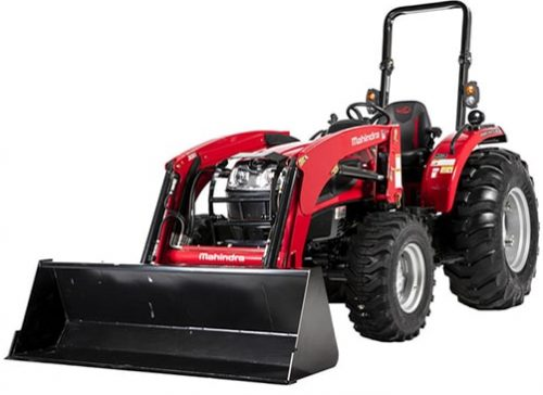 Mahindra 3640 with FEL