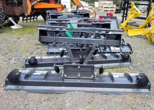 5' Snow Blade - Skid Steer, Front Mount