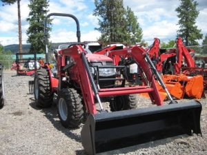 used tractor loader