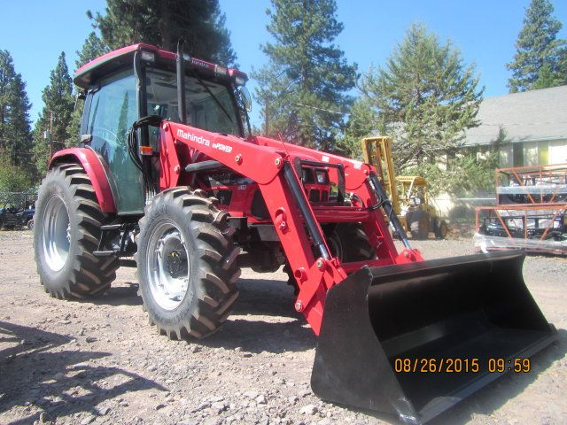 Mahindra mPower 85P Cab with Front End Loader