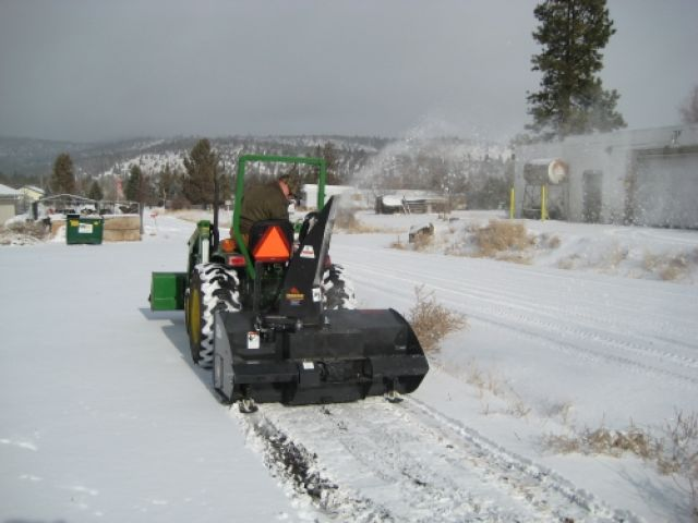 Tractor Snow Blower Safety Tips