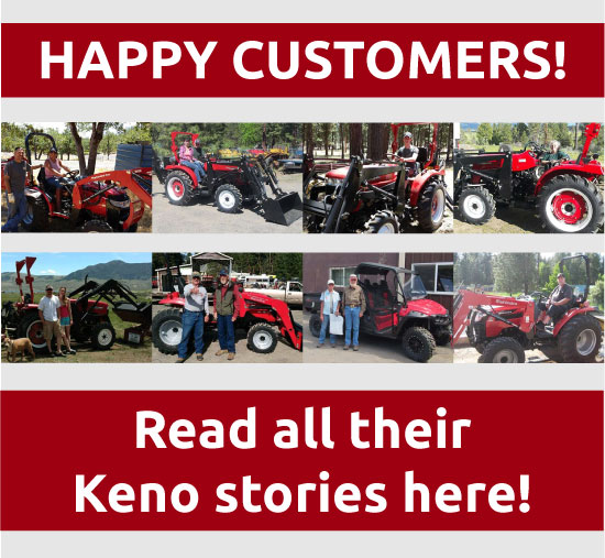 keno tractors customer reviews