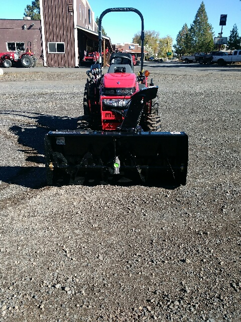 Snow Blower - Fits all Mahindra eMax and Max series tractors
