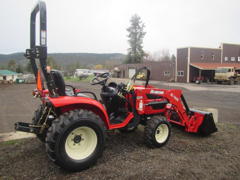 Branson 2400H Tractor with Front End Loader - Hydrostat