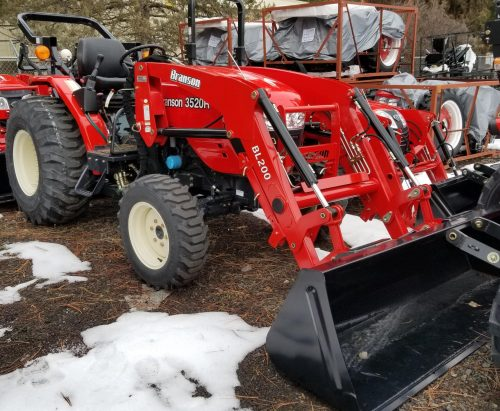 Branson 3520R Tractor Package