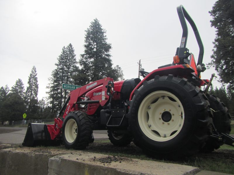 Branson 3725H Tractor with BL25R Front End Loader - Keno Tractors