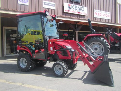 -eMax 20S Cab Tractor Loader