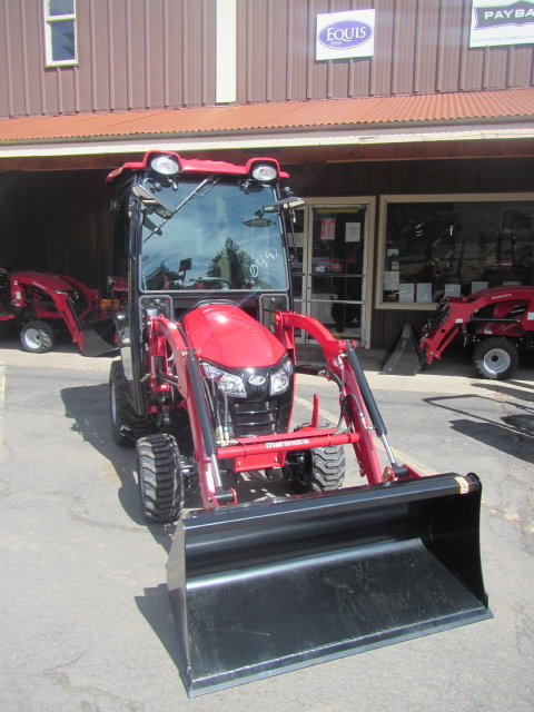 Emax 20 Hst Cab Tractor With Front End Loader Keno Tractors
