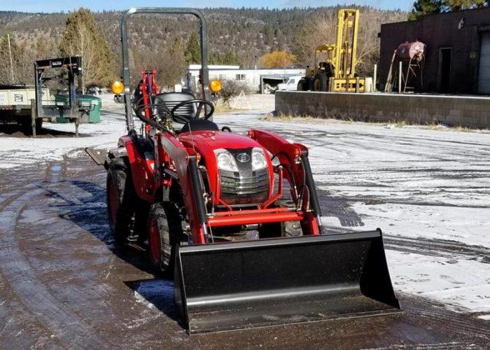 Branson 2400H Tractor Loader Backhoe