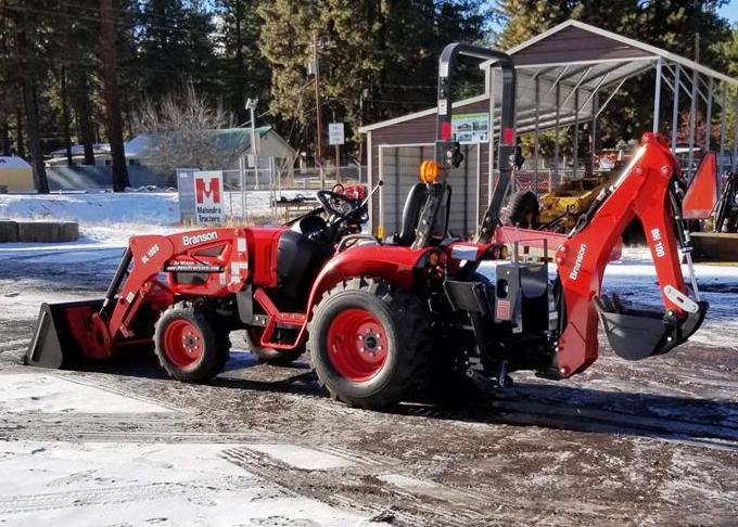 Branson 2400 Tractor Loader Backhoe