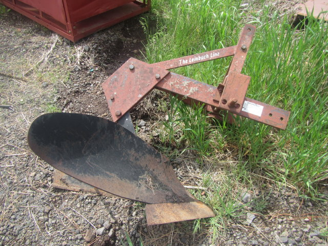 Single Plow
