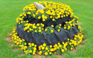 creative things to do with old tires