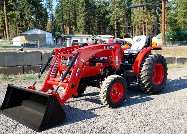 Branson 3015H with Front End Loader