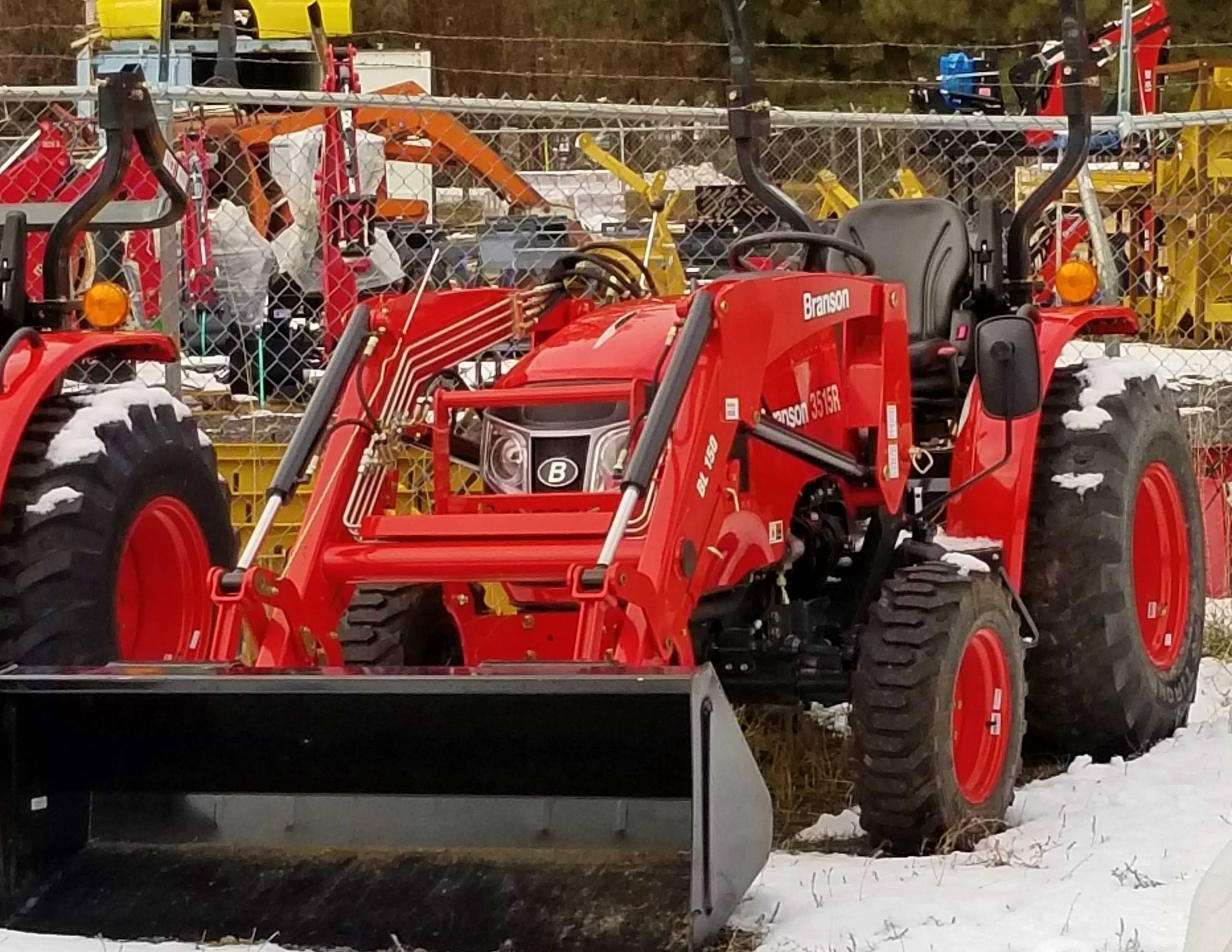 Branson 3515R with Front End Loader