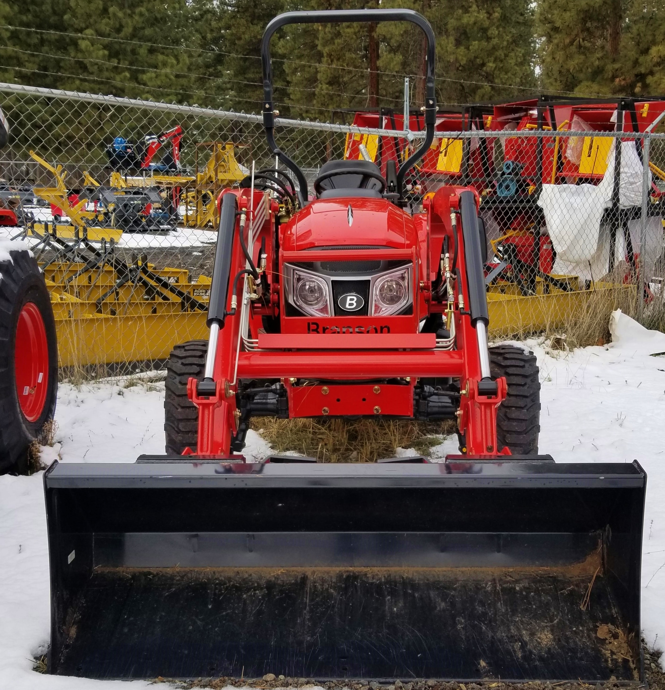 Branson 3515 with Front End Loader