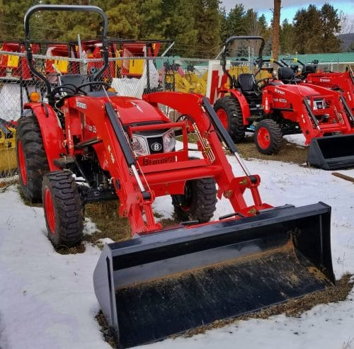 Branson 3515h tractor package