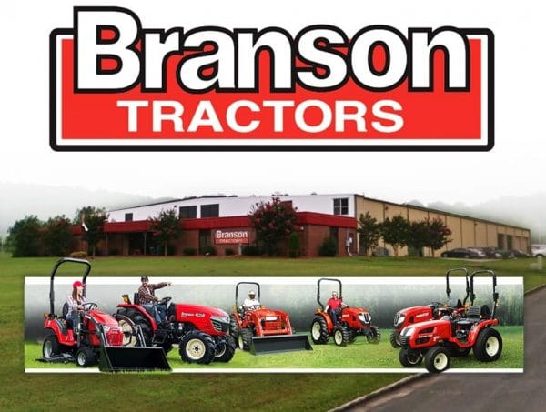branson tractor parts
