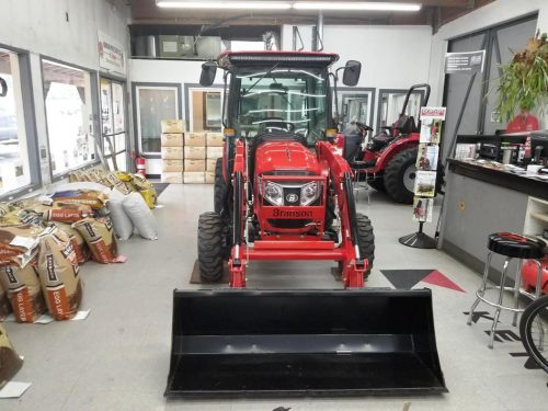 Branson 4215Ch Cab Tractor and FEL