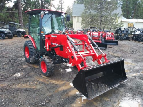 Branson 3515C(H) Cab Tractor with Front End Loader