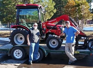 Mahindra 2538 Hydrostat Cab Tractor