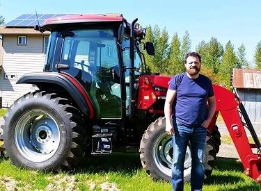 mahindra 6075 cab tractor