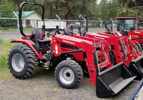 Mahindra 2638 Tractor and FEL