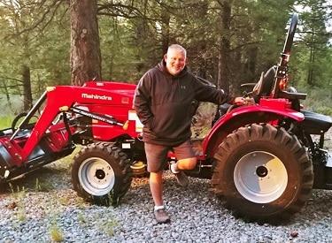 Mahindra 1626 Hydrostat Tractor