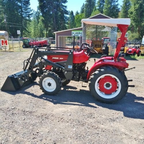 Used Jinma 254 with Loader 2014