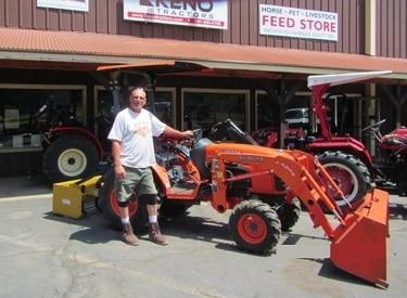 kubota b3300su tractor