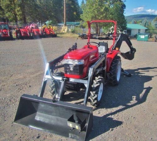Jinma 254 Tractor, Loader, Backhoe