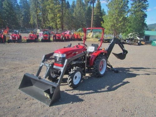 Jinma 254 Tractor, Loader, Backhoe