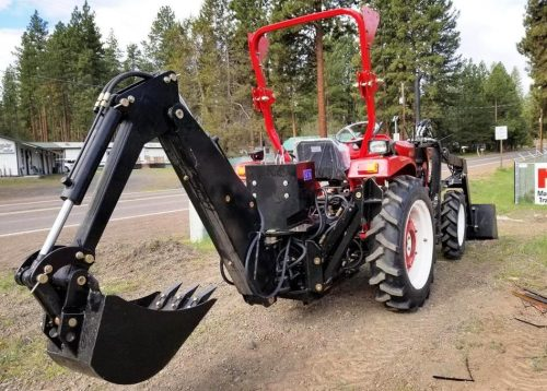 Jinma 254 Tractor/Loader & Backhoe