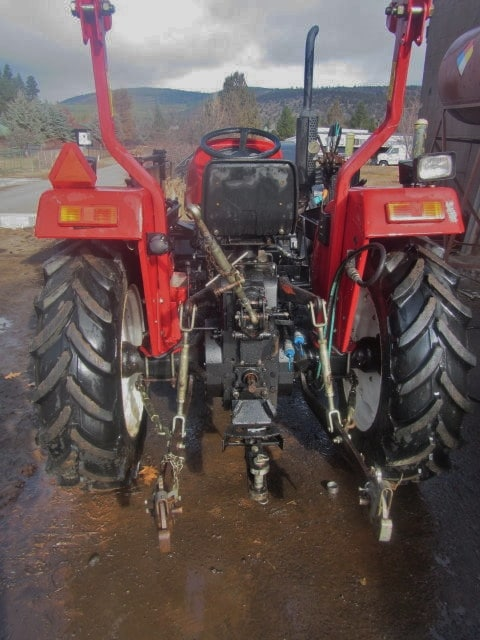 Used Jinma 354 3 pt hitch