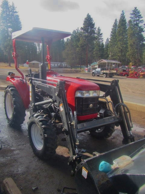 Used Jinma 354 Tractor Frt Qtr