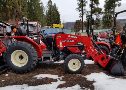 3520r Tractor and Loader