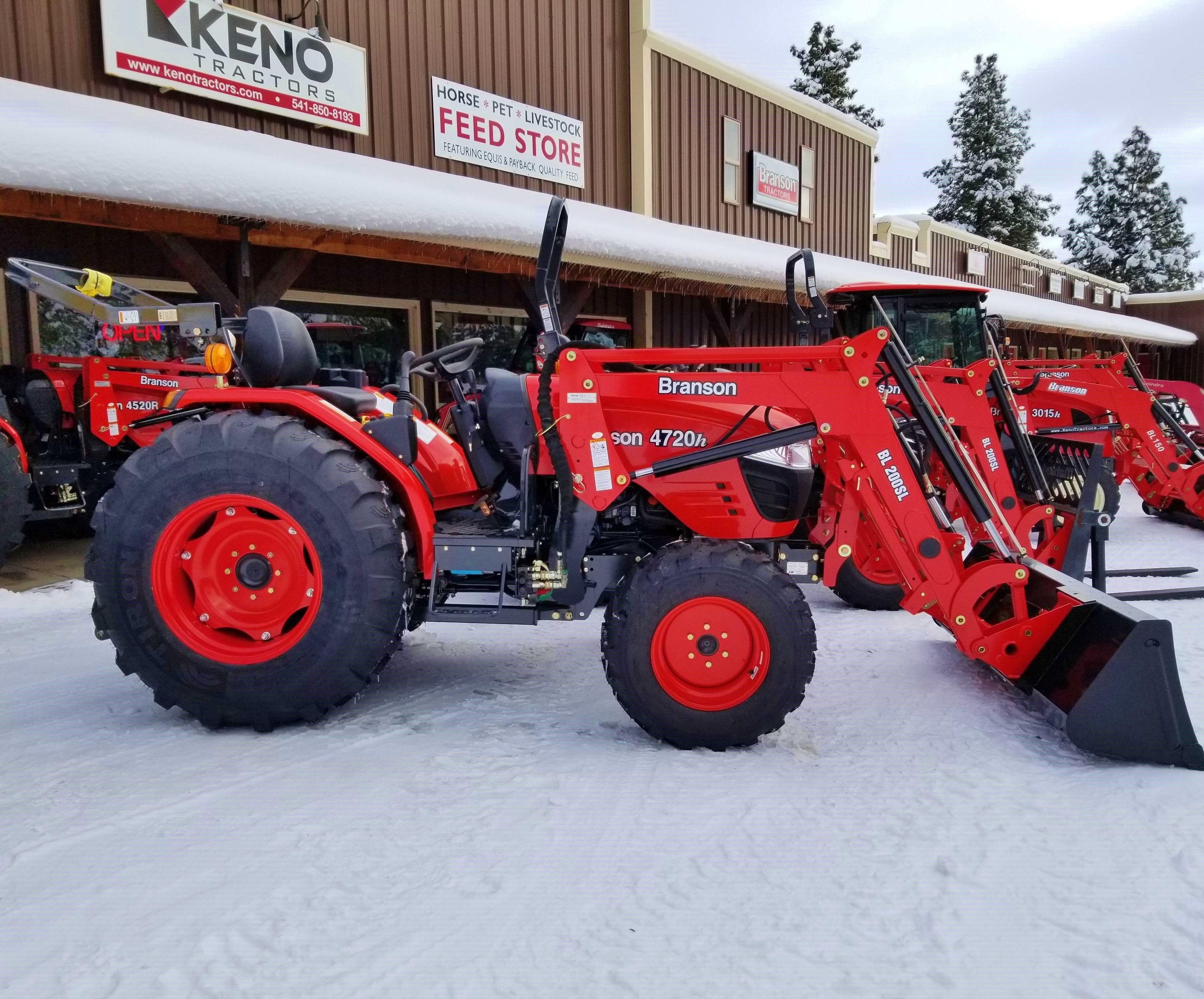 Branson 4820h Tractor Loader